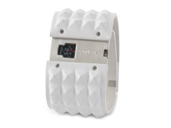 Frontman Aluminum White Leather Watch