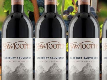 Sawtooth Cabernet Sauvignon (6)