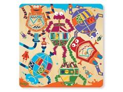 P'Kolino 12-Piece Robot Puzzle