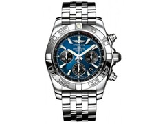 Men's Chronomat Chronograph Blue Dial