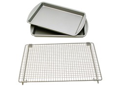Basic Baking Sheets and Cooling Rack Set