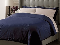 Hotel Duvet Cover Set - Navy - 3 Sizes
