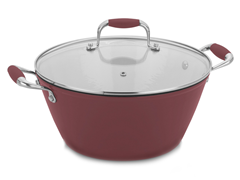 Fagor 3 Quart Soup Pot Red