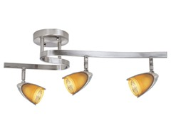 3-Light Satin Waverail Kit, Amber