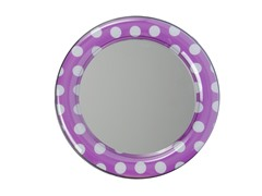 Mirror - Purple Polka Dot