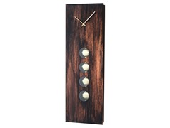 Nova Lighting: Oakley Pendulum Wall Clock