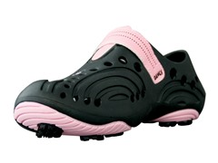 Women's Golf Spirit Shoes - Black/Soft Pink