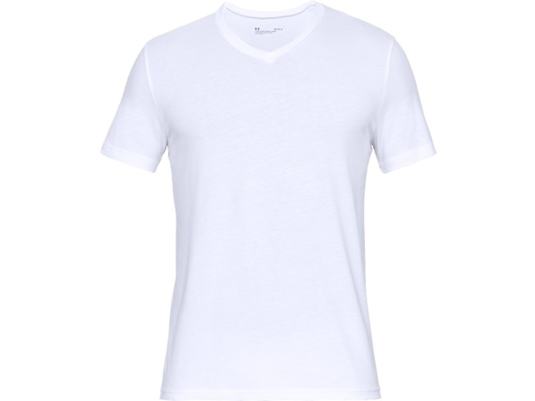 Image of Ua Charged Cotton Vneck 2 Pack