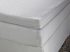"12"" Reversible Memory Foam Mattress - Queen"