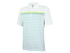 ClimaCool Engineered Stripe Polo, Marine