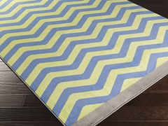 Bambino Lime & Ivory Rug - 4 Sizes