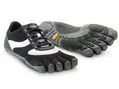 Vibram Men's Speed Shoes, B&W