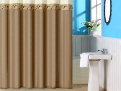 Abilene Embroidered Shower Curtain