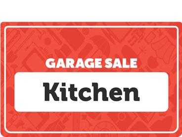Kitchen Garage Sale