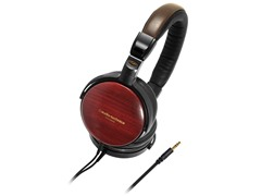 Audio Technica Portable Wooden Over-Ear Headphones