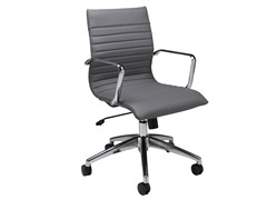 Janette Office Chair Grey