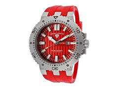 Challenger Watch, Red / Silver
