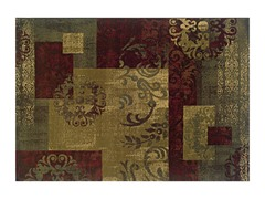 Madison Scroll Leaves Area Rug (4 Sizes)