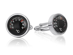 SD Man Thermometer Cufflinks