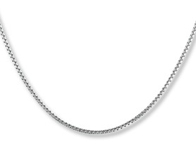 La Rochelle Sterling Silver Box Chain