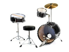 Spectrum Three Piece Junior Drum Set