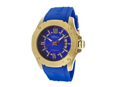 Elini Barokas Blue and Yellow Gold Watch