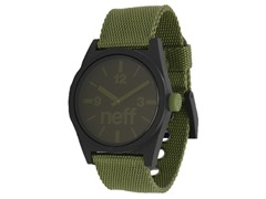 Neff Daily Woven Watch - Olive