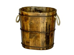 Altai Tapered Wooden Bucket