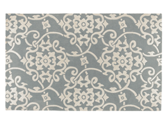 Cosmopolitan Silvered Gray Rug (4 Sizes)