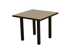 Euro Dining Table, Black/Sand