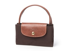 Longchamp Le Pliage Small Handbag, Brown