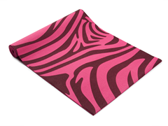 Pink Zebra Yoga Mat