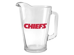 Chiefs Glass Pitcher