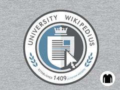 University Wikipedius Long-Sleeve Tee