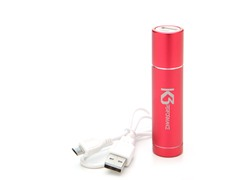 Power Tube 2200 USB Charger - Red