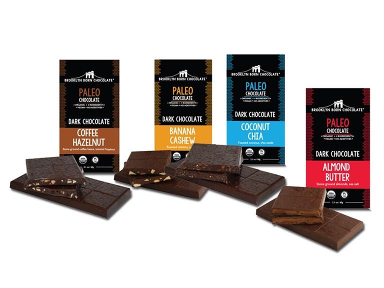 Brooklyn Born Chocolate Paleo Bars 8 Pack