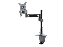"Single Arm Monitor Mount for 14"" - 24"""