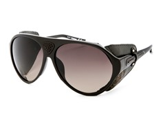 Men's Sunglasses, Black/Dark Purple Gradient