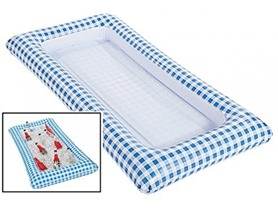 Inflatabuffet, Blue Gingham Style
