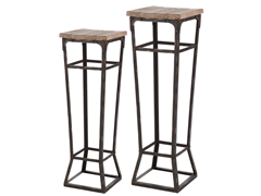 angelo:HOME 2-Piece Pedestal Table Set