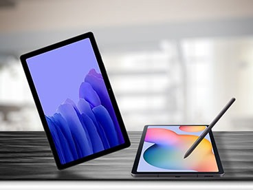 Several Samsung Galaxy Tablets