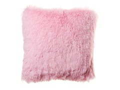 Shaggy Pink Pillow