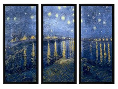 VanGogh Starry Night Over Rhone(2-Sizes)