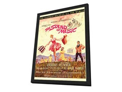 Sound of Music Framed Movie Poster