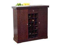 Wine Storage Cabinet - Espresso