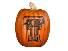 Resin Pumpkin - Texas Tech