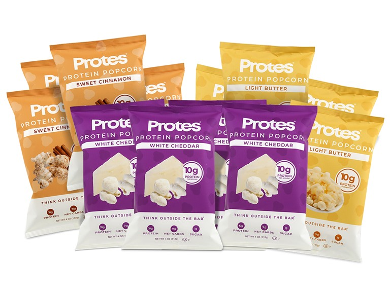 Protes Popcorn 4oz Mixed 12 Pack