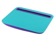 Tablet Cushion - Aqua / Purple