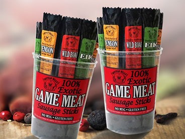 Buffalo Bills Exotic Game Meat Sticks