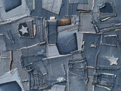 Jeans Mural